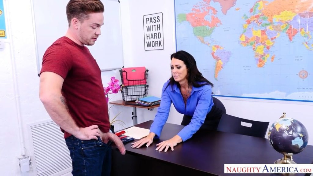 NaughtyAmerica-Pass With Hardwork-Reagan Foxx,Kyle Mason