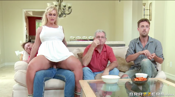 Brazzers - Mommy Takes A Seat On My Dick - Ryan Conner, Bill Bailey