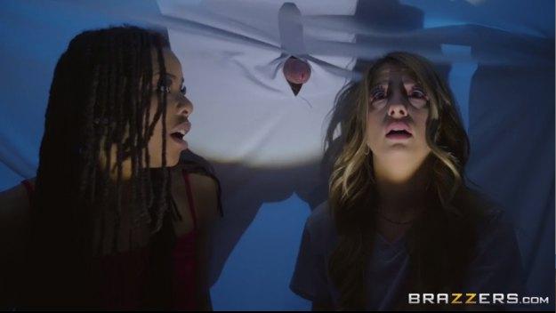 Brazzers Kira Noir, Kristen Scott, Xander Corvus - Sluts Scared Straight