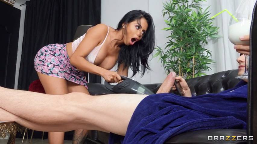 Brazzers Canela Skin, Jordi El Nino Polla - Anal Sex Doesn't Happen In A Vacuum Full 38 min / Brazzers Exxtra / Anal Sex / Sex With Maid / Squirt / Funny