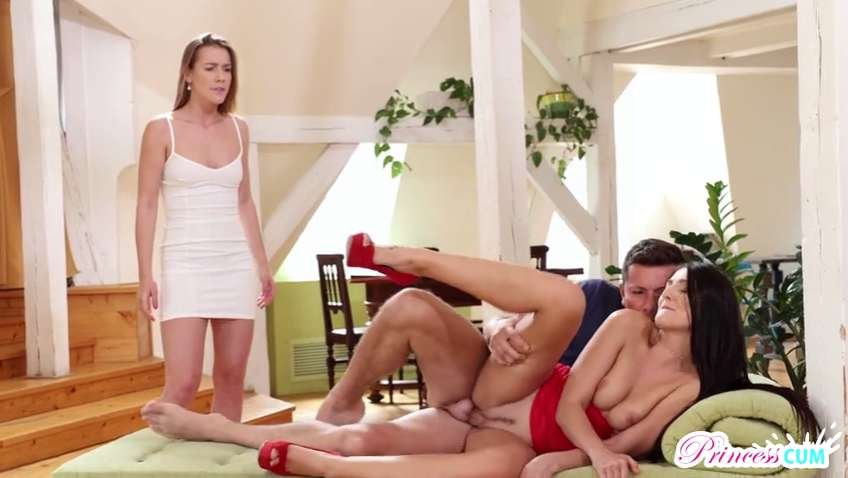 Princess Cum Alexis Crystal Katy Rose - Double Cream Dream Full 39 min /Nubiles Porn/ Step Sister / Stepbrother /Sister Brother Sex/ Family Porn / Threesome