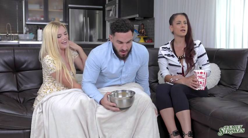 Family Strokes Nikki Sweet, Peter Green - Stepsibiling Rivalry Full 50 min / Step Sister / Stepbrother / Sister - Brother Sex / Sneaky Sex / Family Porn