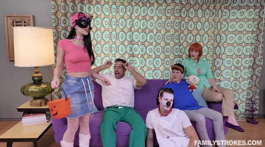 Alex Coal Johnny Castle - Family Strokes - Family Guy Fuck Fest