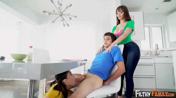 Filthy Family Lexi Luna Harmony Wonder Ricky Spanish - 3Some With Step Sister And Step Mom