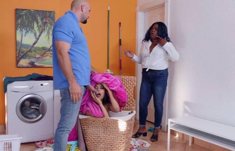 Realitykings Maya Bijou JMac - Sneaky Sex - Lusty Laundry Day