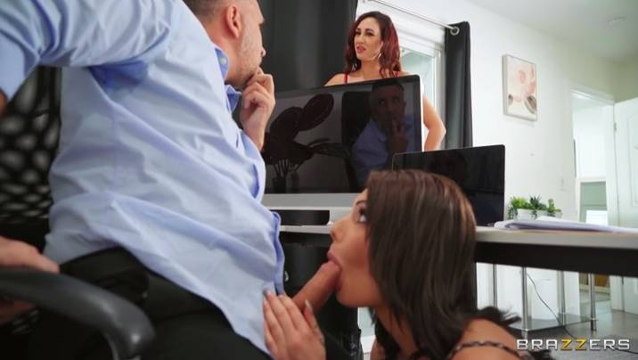 Brazzers Nella Jones , Keiran Lee - Sweating, Cleaning And Cheating